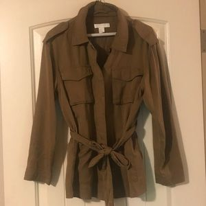 H&M Brown Utility Jacket